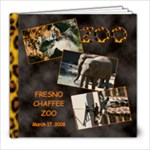 Fresno Zoo - 8x8 Photo Book (20 pages)