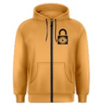 Puck the Royal - Men s Zipper Hoodie