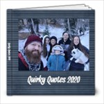 2020 Quotes - 8x8 Photo Book (20 pages)