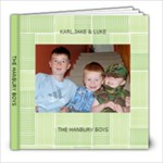 THE HANBURY BOYS - 8x8 Photo Book (20 pages)