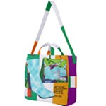 Ireland Walking in the Spring - Square Shoulder Tote Bag