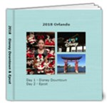 Disney Day 1 & 2 - 8x8 Deluxe Photo Book (20 pages)