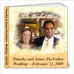Tim & Aimee Wedding-print - 8x8 Photo Book (20 pages)