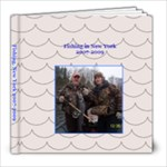 Fishing in New York - 8x8 Photo Book (20 pages)