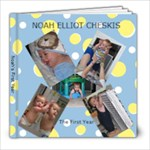 noah s baby book-final draft - 8x8 Photo Book (20 pages)