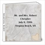 Wedding Photo book - 8x8 Photo Book (20 pages)
