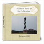 Outer Banks, NC - 8x8 Photo Book (20 pages)