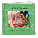 Jackson 3 - 6 months - 8x8 Photo Book (20 pages)