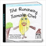 The Runaway Tamale Girl - 8x8 Photo Book (20 pages)