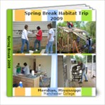H4H Spring Break 2009  - 8x8 Photo Book (20 pages)