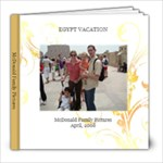 Egypt 2008 - 8x8 Photo Book (20 pages)