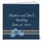 Stephen and Mel s Wedding - 8x8 Photo Book (39 pages)