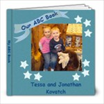 ABC Book for Tessa & Jonathan - 8x8 Photo Book (20 pages)