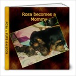 Rosa and Pups - 8x8 Photo Book (20 pages)