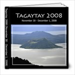 Tagaytay 2008 - 8x8 Photo Book (30 pages)