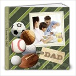 Fathers Day Dad Sports Book - 8x8 Photo Book (20 pages)
