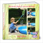Harmony Marie s Second Birthday - 8x8 Photo Book (20 pages)