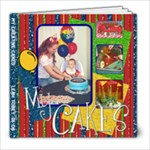 My Creative Cakes - 8x8 Photo Book (20 pages)
