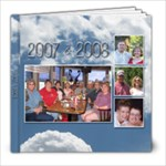 Williams 2007-2008 - 8x8 Photo Book (100 pages)