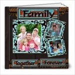 Families are forever sample book - 8x8 Photo Book (20 pages)