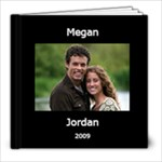 Megan and Jordan Together Forever - 8x8 Photo Book (20 pages)