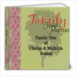 Family Matters - 8x8 Photo Book (60 pages)