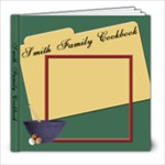 family cookbook - 8x8 Photo Book (20 pages)