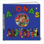 Alona alphabet 7-14-09 - 8x8 Photo Book (20 pages)