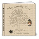 Dakota Family Tree Book - 8x8 Photo Book (20 pages)