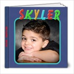 skylers book - 8x8 Photo Book (20 pages)