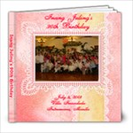 Inang s 90th Birthday - 8x8 Photo Book (20 pages)