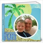 Summer Fun Quickpage Album - 12x12 Photo Book (20 pages)