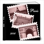 Paris - 8x8 Photo Book (20 pages)