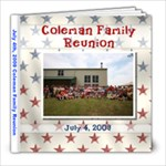 july42009_familyreunion - 8x8 Photo Book (20 pages)