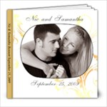 Nic & Samantha Guest Book - 8x8 Photo Book (39 pages)