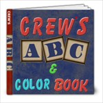 crew abc book - 8x8 Photo Book (39 pages)
