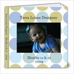 terra months 11 &12 - 8x8 Photo Book (20 pages)