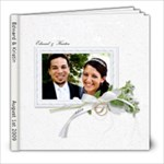 Ed & Kristin - 8x8 Photo Book (39 pages)