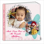 Meek s 1st Birthday - 8x8 Photo Book (20 pages)