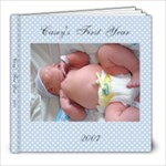 Casey s first year - 8x8 Photo Book (20 pages)