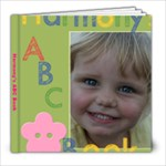 Harmony s ABC Book - 8x8 Photo Book (20 pages)