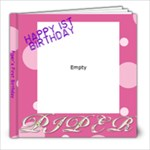 Piper s first birthday - 8x8 Photo Book (20 pages)