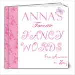 Anna words - 8x8 Photo Book (20 pages)