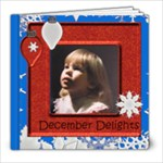 December Delights Sample Book - 8x8 Photo Book (20 pages)