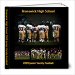 BHS Junior Varity Football - 8x8 Photo Book (39 pages)