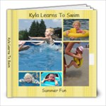 Kyla Leans to Swim - 8x8 Photo Book (39 pages)