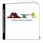 Christmas Art Books - 8x8 Photo Book (39 pages)