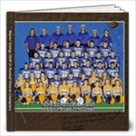 Patrick JV football - 12x12 Photo Book (20 pages)