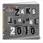 Zak Journal - 8x8 Photo Book (20 pages)
