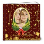 Christmas Theme - 8x8 Photo Book (20 pages)